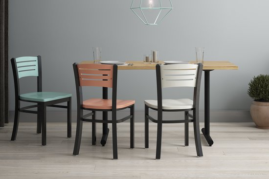 Avalon Chairs with Menu Tables