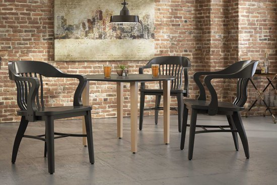 Boston chairs with Jefferson tables