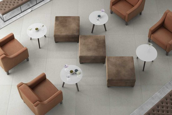Esque Lounge, Olympian ottomans, Bourne side tables and Oxley benches