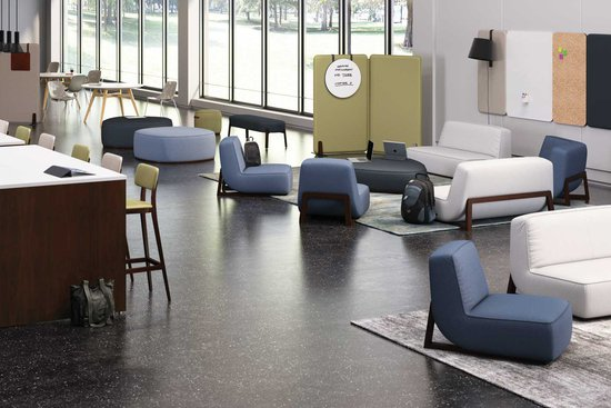 Indie Lounge with Reef Tables and Jude Stools