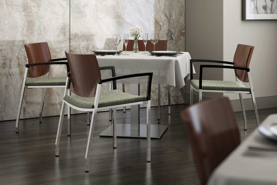 Knox chairs with Nosh tables