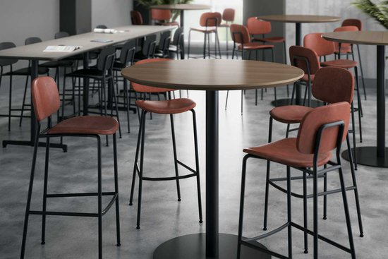 Bryn stools with Nosh bar height tables